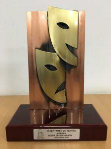 Premio mejor escenografía X Certamen Atenea